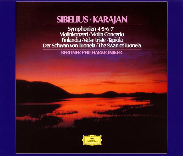シベリウス:交響曲集(第4番-第7番) / ヴァイオリン協奏曲 他 カラヤン / BPO 他 [限定]