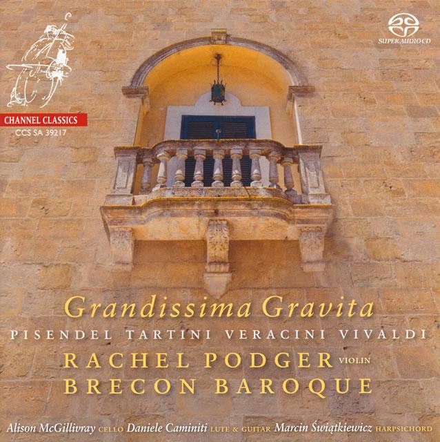グランディッシマ・グラヴィタ〜18世紀のヴァイオリン・ソナタ集 ポッジャー(VN) ブレコン・バロック
