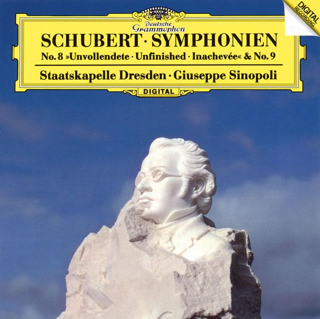 シューベルト:交響曲第8番「未完成」・第9番「ザ・グレイト」 シノーポリ / シュターツカペレ・ドレスデン [SHM-CD] [再発]