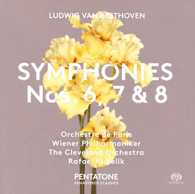 ベートーヴェン:交響曲第6番・第7番&第8番 クーベリック / パリo. 他