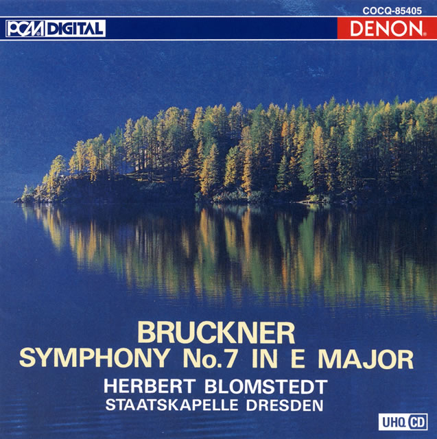 ブルックナー:交響曲第7番 ブロムシュテット / ドレスデン・シュターツカペレ [UHQCD]