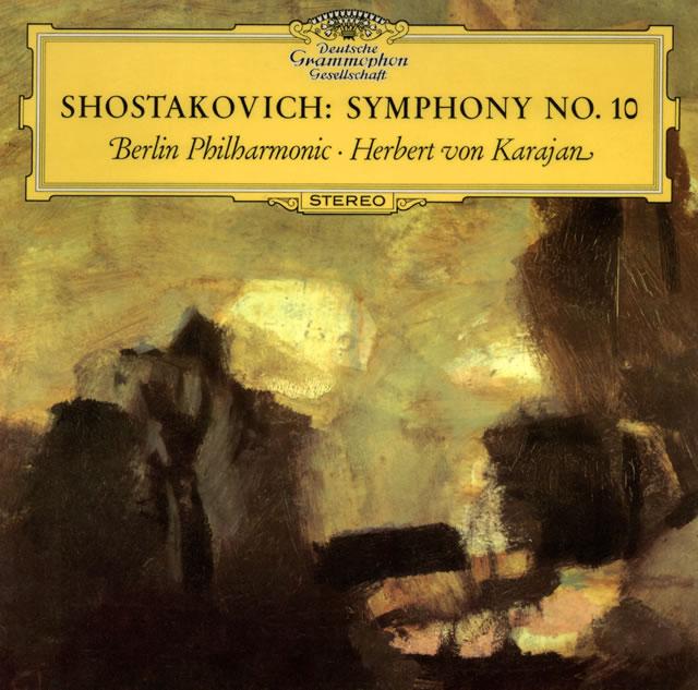 ショスタコーヴィチ:交響曲第10番 カラヤン / BPO [紙ジャケット仕様] [限定]