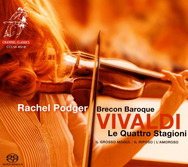 ヴィヴァルディ:ヴァイオリン協奏曲集「四季」 ポッジャー(VN) ブレコン・バロック [デジパック仕様]