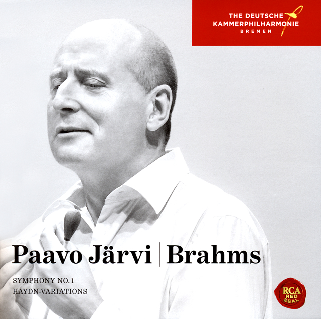 ブラームス:交響曲第1番 / ハイドンの主題による変奏曲 P.ヤルヴィ / ドイツ・カンマーフィルハーモニー・ブレーメン