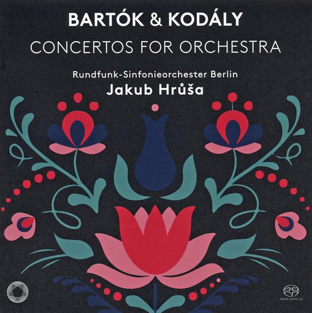 バルトーク&コダーイ:管弦楽のための協奏曲 フルシャ / ベルリン放送so.