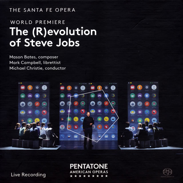 ベイツ:「スティーブ・ジョブズの革命(進化)」 クリスティ / サンタフェ・オペラo. 他