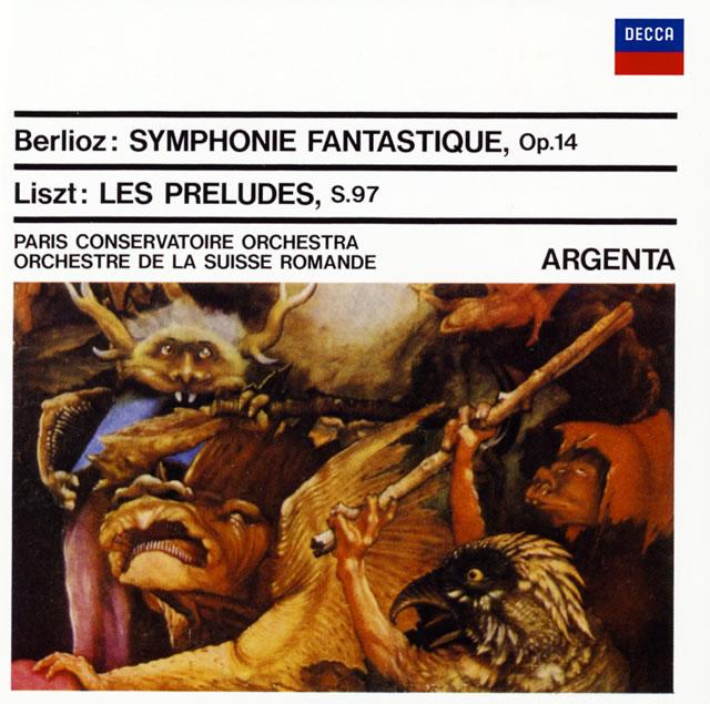 ベルリオーズ:幻想交響曲 他 アルヘンタ / PCO、SRO
