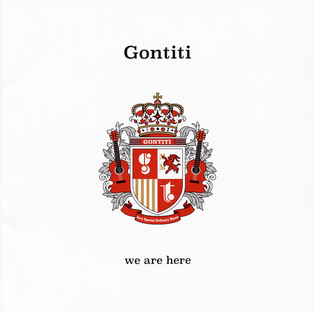 GONTITI / 「we are here」-40 years have passed and we are here- [UHQCD]