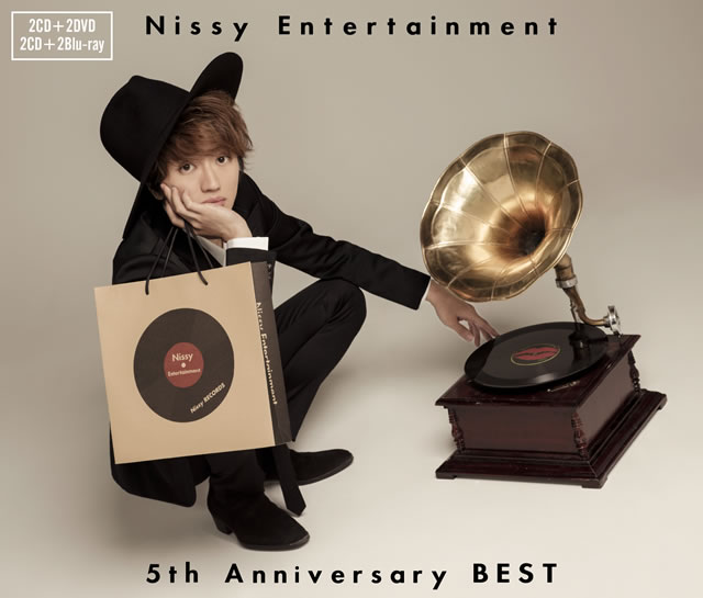 Nissy - Nissy Entertainment 5th Anniversary BEST [2CD+2DVD]