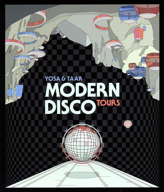YOSA&TAAR - Modern Disco Tours [CD]
