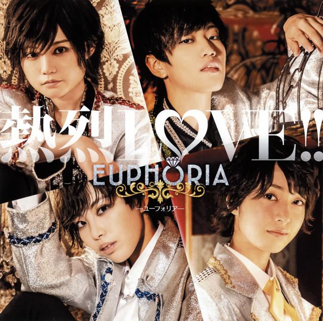 EUPHORIA / 熱烈LOVE!! [CD+DVD] [限定]
