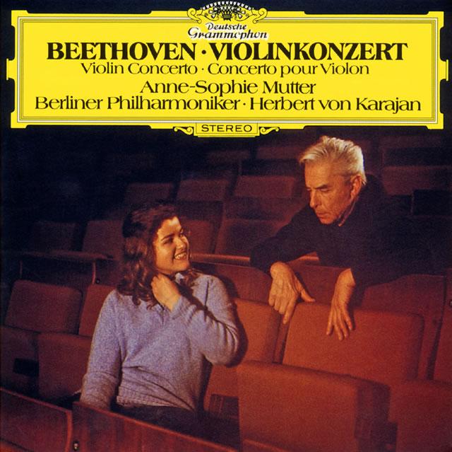 ベートーヴェン:ヴァイオリン協奏曲 / 三重協奏曲 ムター(VN) カラヤン / BPO [SA-CD] [紙ジャケット仕様] [SHM-CD] [限定]