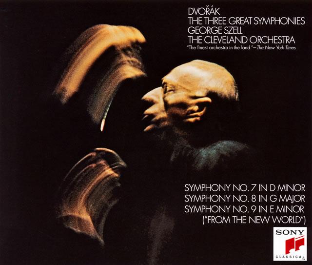 ドヴォルザーク:交響曲第7番・第8番・第9番「新世界より」 / スメタナ:モルダウ 他 セル / クリーヴランドo. [SA-CDハイブリッド] [2CD] [限定]
