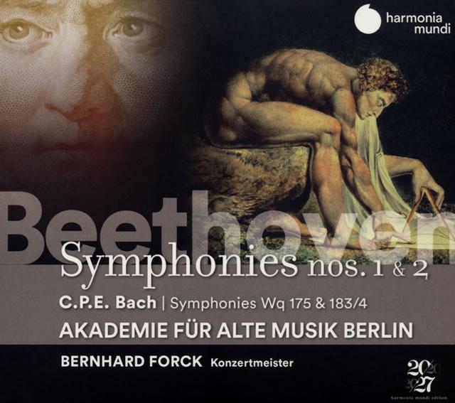 ベートーヴェン:交響曲第1番・第2番 他 ベルリン古楽アカデミー [デジパック仕様]