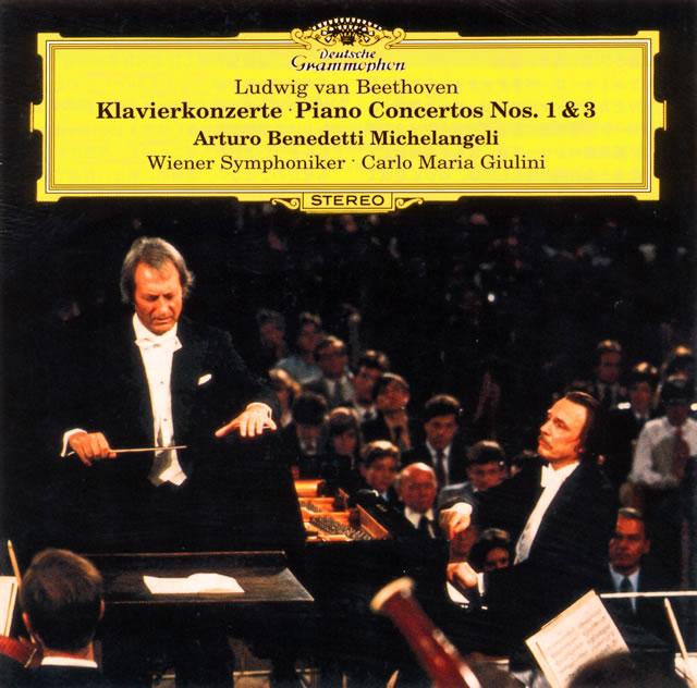 ベートーヴェン:ピアノ協奏曲第1番・第3番 ミケランジェリ(P) ジュリーニ / VSO [UHQCD] [限定]