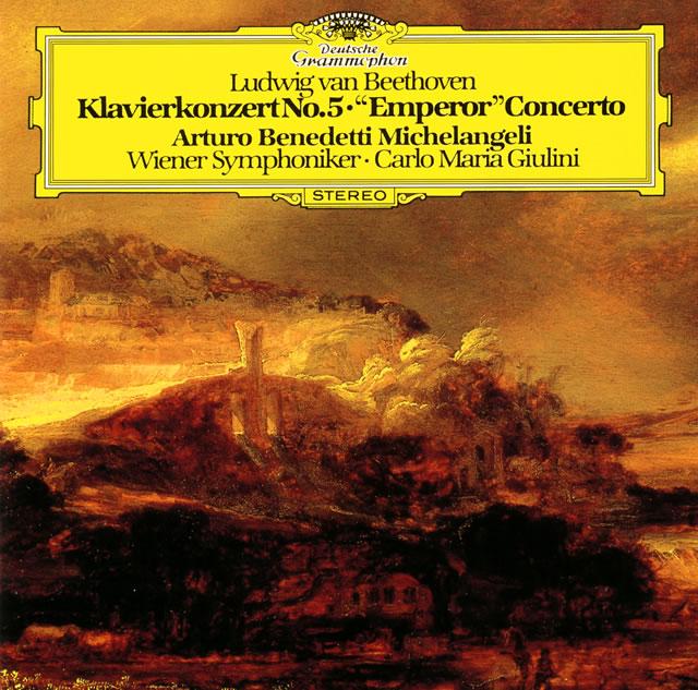 ベートーヴェン:ピアノ協奏曲第5番「皇帝」 他 ミケランジェリ(P) ジュリーニ / VSO [UHQCD] [限定]