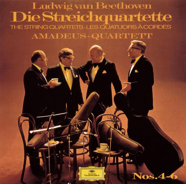 ベートーヴェン:弦楽四重奏曲第4番-第6番 アマデウスSQ [UHQCD] [限定]