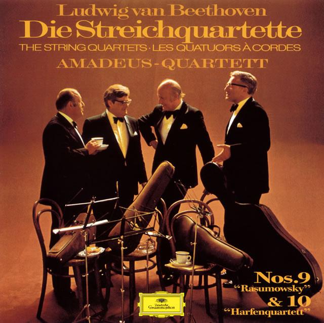 ベートーヴェン:弦楽四重奏曲第9番・第10番 アマデウスSQ [UHQCD] [限定]