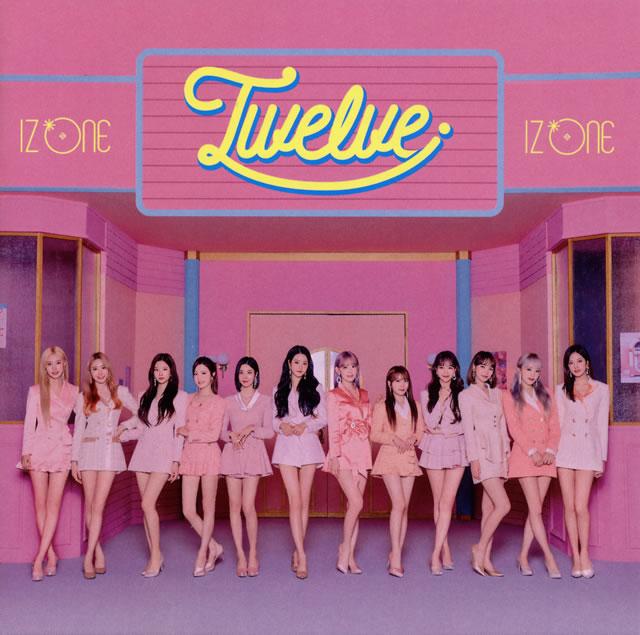 IZ*ONE / Twelve(TYPE A) [CD+DVD]