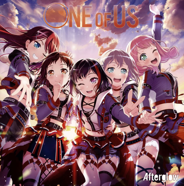 「BanG Dream!」〜ONE OF US / Afterglow [Blu-ray+CD] [限定]