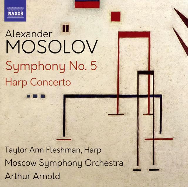 モソロフ:交響曲第5番 / ハープ協奏曲 アーノルド / モスクワso. フレッシュマン(HP)
