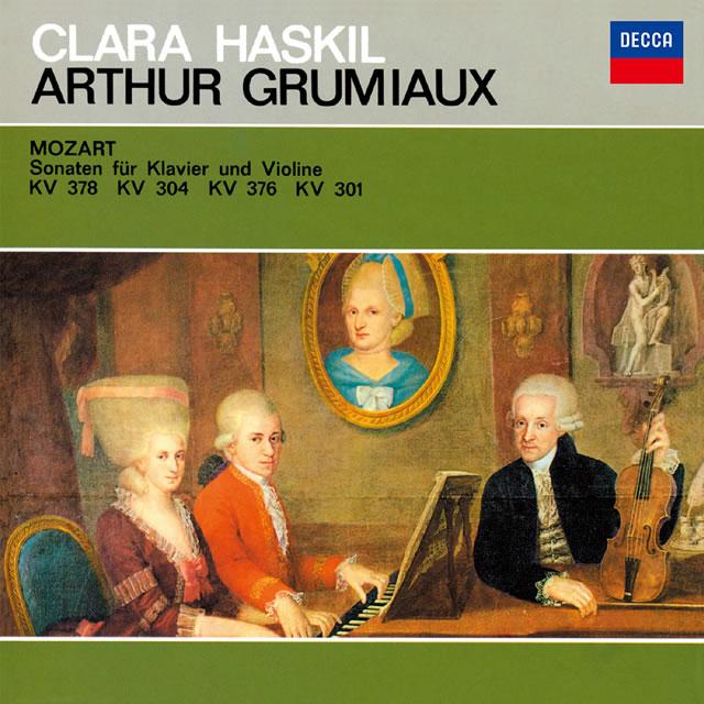 モーツァルト:ヴァイオリン・ソナタ第34番・第28番・第32番・第25番 グリュミオー(VN) ハスキル(P) [SA-CD] [SHM-CD] [限定]