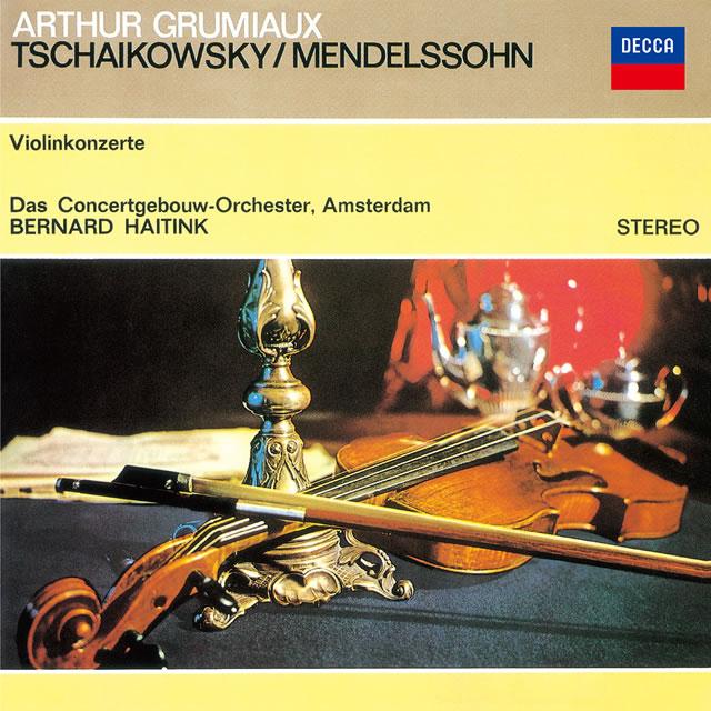 チャイコフスキー、メンデルスゾーン:ヴァイオリン協奏曲 グリュミオー(VN) ハイティンク / ロイヤル・コンセルトヘボウo. [SA-CD] [SHM-CD] [限定]