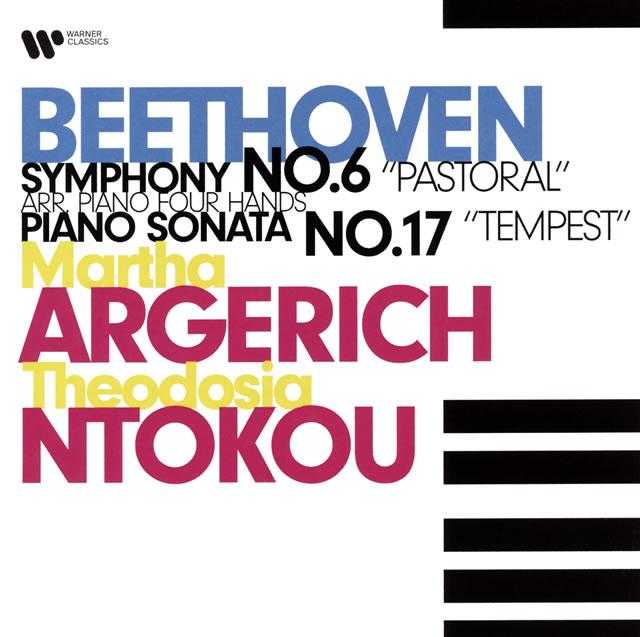ベートーヴェン:田園(4手ピアノ版) アルゲリッチ、ヌトコウ(P) [UHQCD]