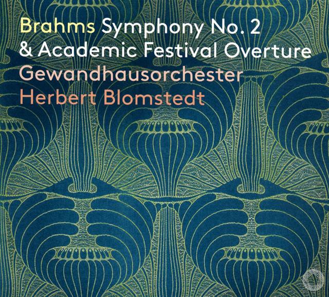 ブラームス:交響曲第2番 / 大学祝典序曲 ブロムシュテット / LGO [デジパック仕様]