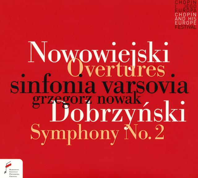 ドブジンスキ:交響曲第2番「性格的」 ノヴァク / シンフォニア・ヴァルソヴィア