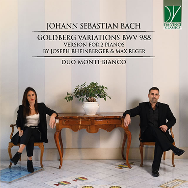 J.S.バッハ:ゴルトベルク変奏曲BWV988(2台ピアノ版) デュオ・モンティ=ビアンコ