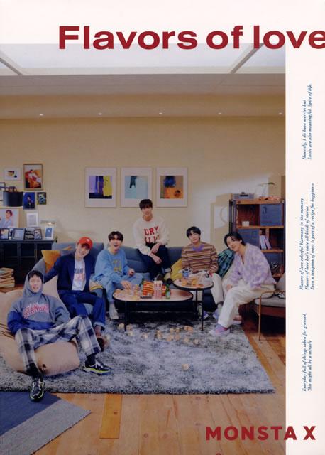 MONSTA X / Flavors of love [トールケース仕様] [CD+DVD] [限定]