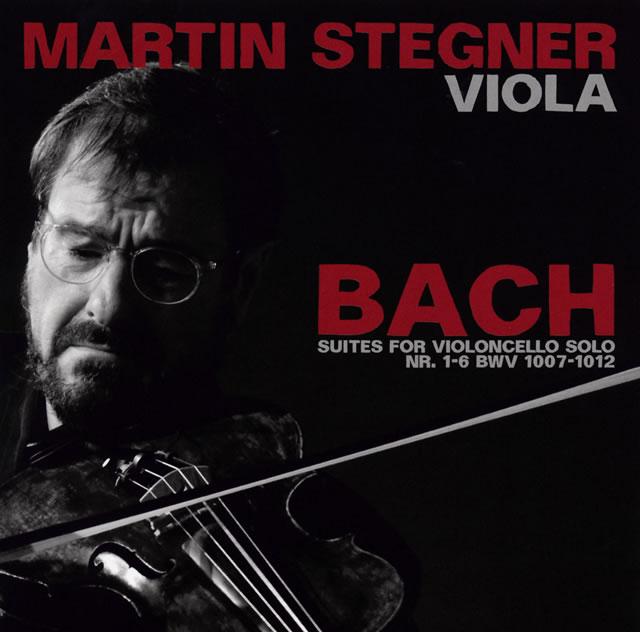 J.S.バッハ:無伴奏チェロ組曲BWV1007-1012(ヴィオラ版) シュテーグナー(VA) [2CD]