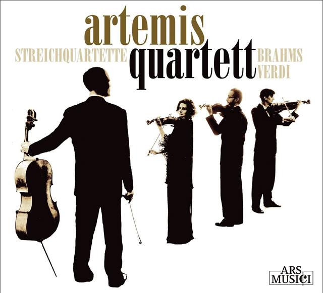 ブラームス:弦楽四重奏曲第2番 / ヴェルディ:弦楽四重奏曲ホ短調 アルテミスSQ