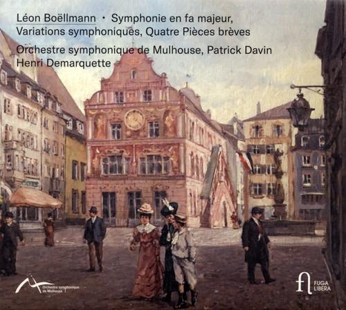 ボエルマン:交響曲ヘ長調 / 交響的変奏曲 他 ダヴァン / ミュルーズso. [デジパック仕様]