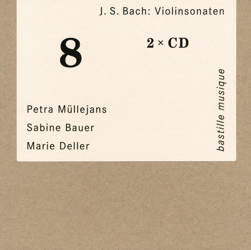 J.S.バッハ:ヴァイオリン・ソナタ集 ミュレヤンス(VN) バウアー(HC) デラー(VC) [2CD]