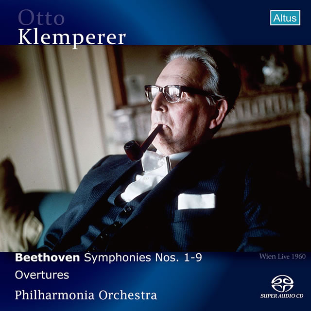 ベートーヴェン:交響曲全集&序曲集 クレンペラー / PO 他 [SA-CD] [2SACD]