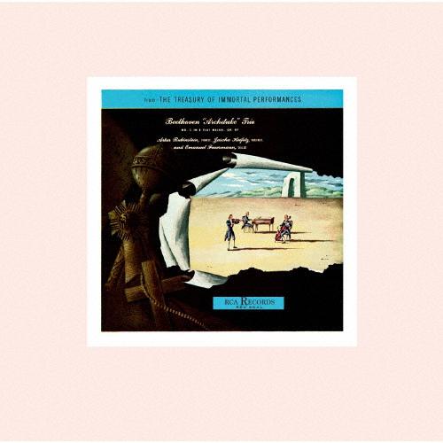 ベートーヴェン:大公トリオ / シューベルト:ピアノ三重奏曲第1番 ルービンシュタイン(P) ハイフェッツ(VN) フォイアマン(VC) [再発]