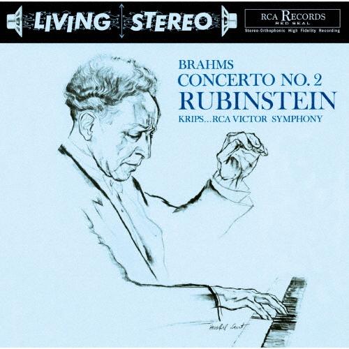 ブラームス:ピアノ協奏曲第2番 他 ルービンシュタイン(P) クリップス / RCAビクターso. 他 [再発]