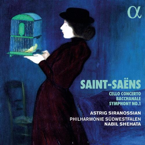 サン=サーンス:チェロ協奏曲第1番 / 交響曲第1番 シェハタ / 南ヴェストファーレンpo. シラノシアン(VC)
