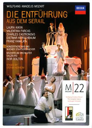 モーツァルト:歌劇「後宮からの誘拐」〈2枚組〉 [DVD]