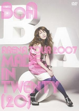 "BoA/BoA ARENA TOUR 2007""MADE IN TWENTY(20)"" [DVD]"