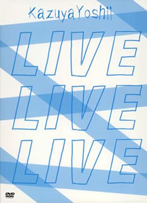 吉井和哉/LIVE DVD BOX『LIVE LIVE LIVE』〈初回生産限定・4枚組〉 [DVD]