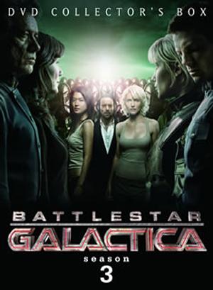 GALACTICA ギャラクティカ 転:season3 DVD-BOX1〈5枚組〉 [DVD]
