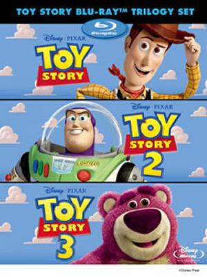 トイ・ストーリー ブルーレイ・トリロジー・セット〈2012年12月末日までの期間限定発売・4枚組〉 [Blu-ray][廃盤]