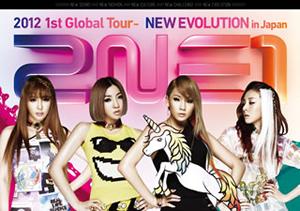2NE1/2012 1st Global Tour-NEW EVOLUTION in Japan〈2枚組〉 [DVD]