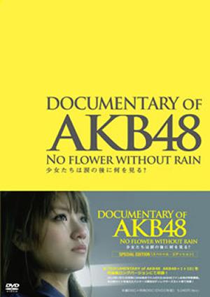 DOCUMENTARY OF AKB48 NO FLOWER WITHOUT RAIN 少女たちは涙の後に何を見る? スペシャル・エディション〈2枚組〉 [DVD]