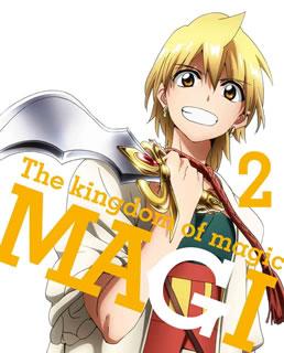 マギ The kingdom of magic 2〈完全生産限定版・2枚組〉 [Blu-ray]