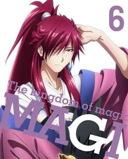 マギ The kingdom of magic 6〈完全生産限定版・2枚組〉 [Blu-ray]