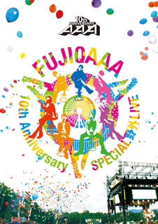 AAA/AAA 10th Anniversary SPECIAL 野外LIVE in 富士急ハイランド〈2枚組〉 [DVD]